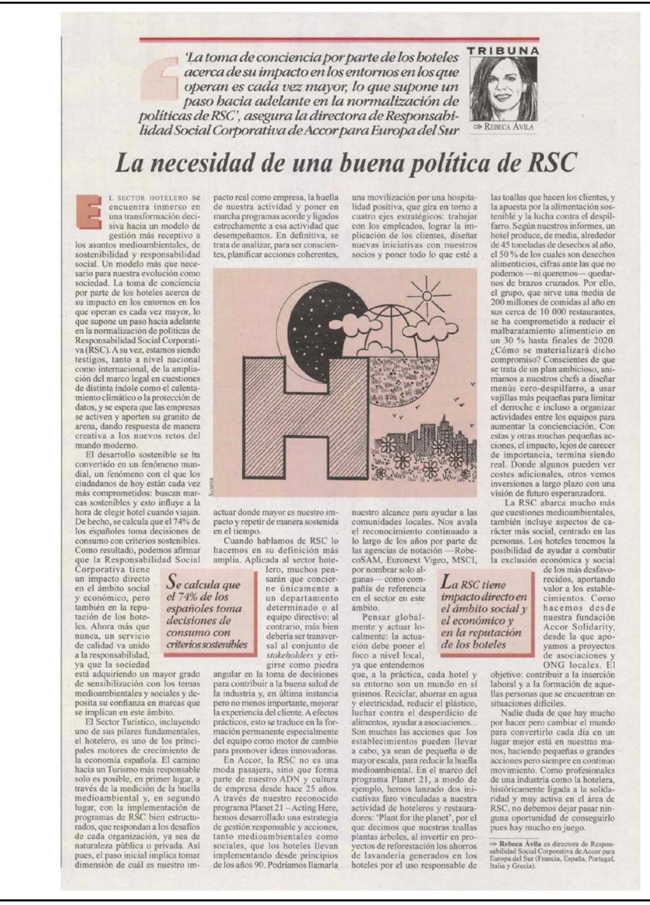 La necesidad de una buena política de RSC / Tribuna
