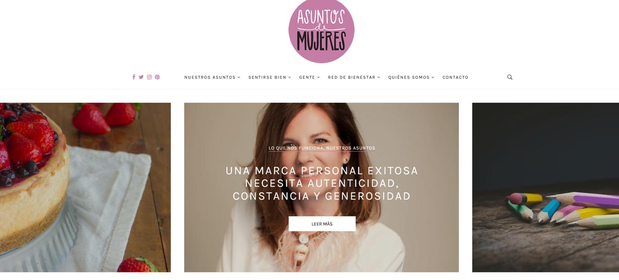 Asuntos de Mujeres / Una marca personal exitosa necesita autenticidad, constancia y generosidad