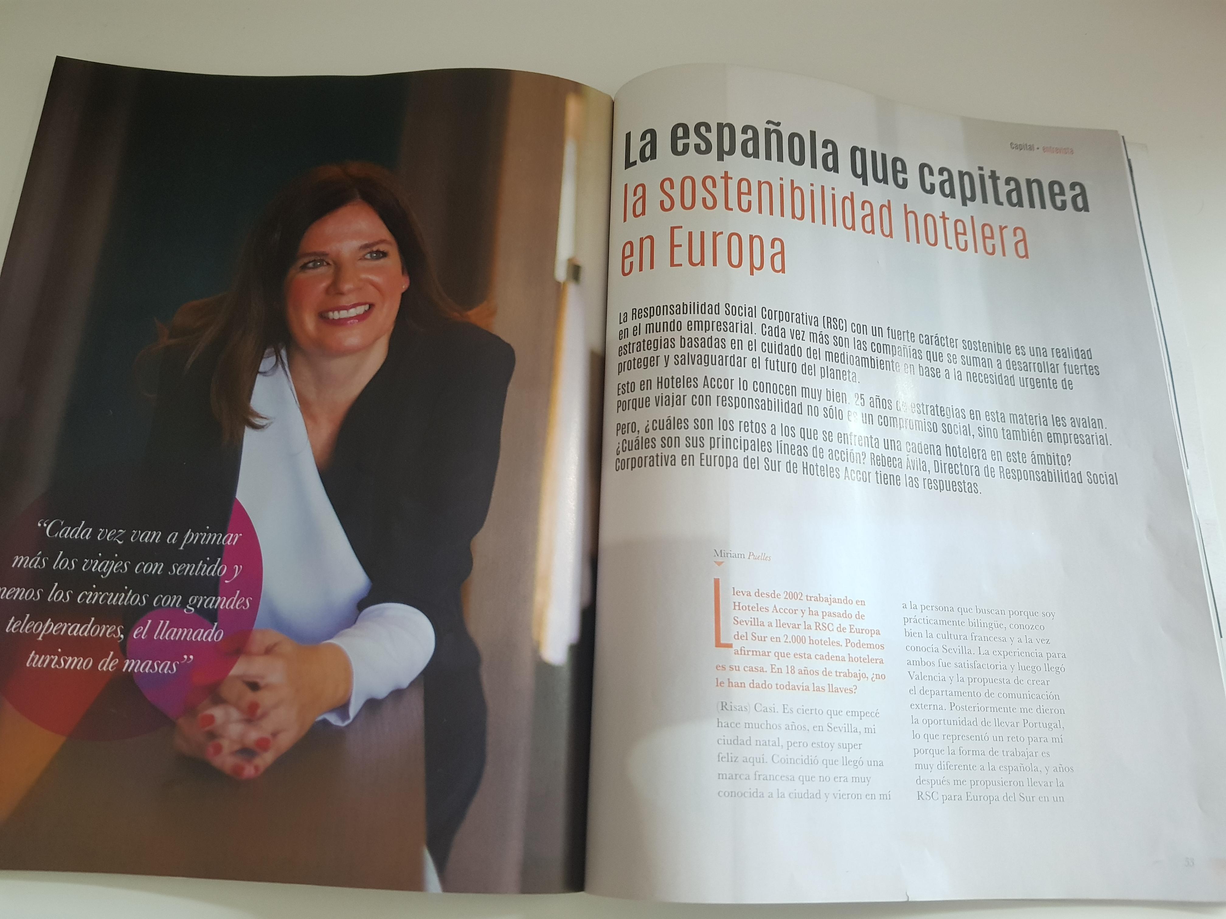 La española que lidera la sostenibilidad hotelera en Europa